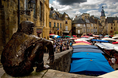 The market town of Sarlat