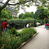 The Promenade Plantée, Bastille to Jardin Reuilly - artists at work